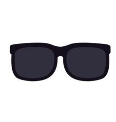 sunglasses isolated icon design vector image
