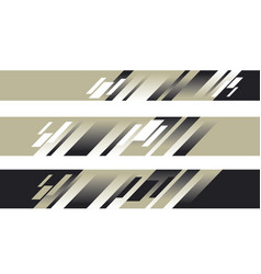 Black white and beige color geometric pattern vector
