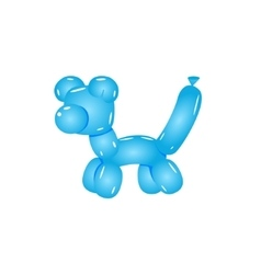 Blue Balloon Cat vector image