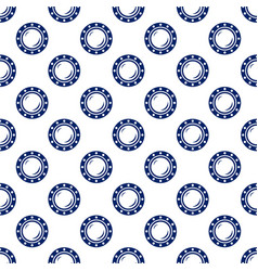 blue porthole seamless pattern vector image vector image