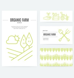 Eco Products Identity vector image