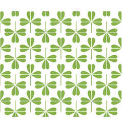 Green leaf seamless pattern background vector