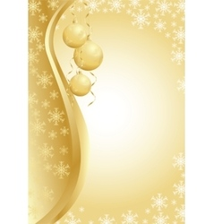 image of christmas greeting vector image