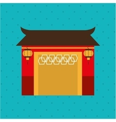 Japanese culture design vector