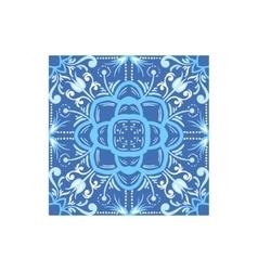 Ornamental tile portuguese famous symbol vector