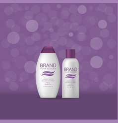 shampoo battle vector image vector image