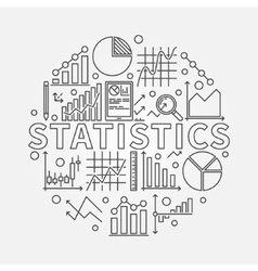 Statistics subject vector