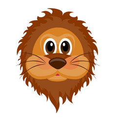 avatar of a lion vector image vector image