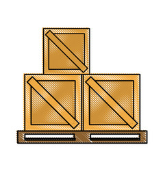 box shipping delivey icon image vector image vector image