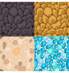 seamless stone vector image