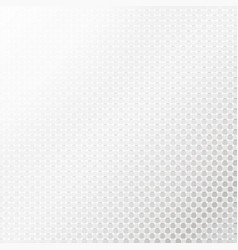 Silver halftone background vector