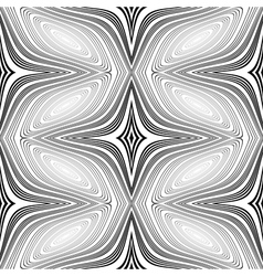 Design seamless monochrome decorative patte vector image