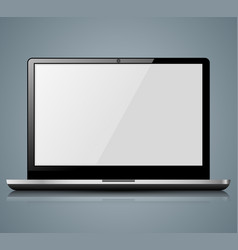 notebook icon with white reflect vector image
