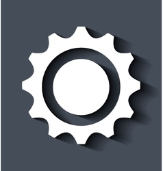 Gearcog or wheel vector