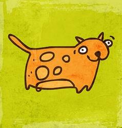 Cat Cartoon vector image
