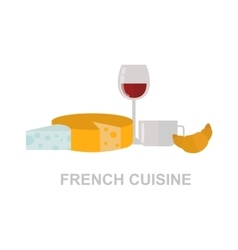 French food vector image
