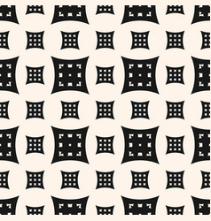 geometric seamless pattern with different squares vector image vector image