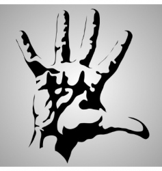 hand vector image vector image