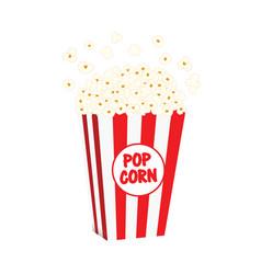Popcorn food fresh vector