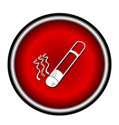 smoke icon great for any use vector image vector image