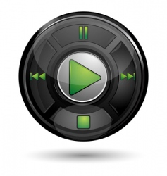 play button vector image