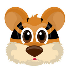 avatar of a tiger vector image