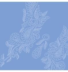 Background lavender buttrefly vector