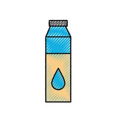 Bottle medical liquid drug pharmacy concept vector
