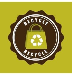 eco label vector image