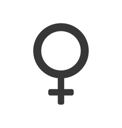 Gender female circle sign icon graphic vector