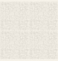 grey canvas texture seamless pattern vector image vector image