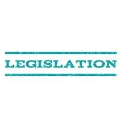 Legislation Watermark Stamp vector image
