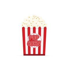 Popcorn fresh cartoon vector