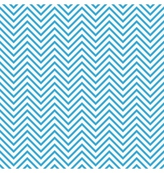 Seamless chevron pattern in blue and white vector image vector image