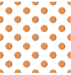 Swedish food pattern seamless vector