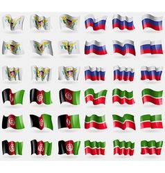 Virginislandsus russia afghanistan tatarstan set vector