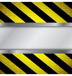 Warning stripe background vector