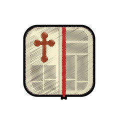 Holy bible christianity vector