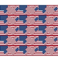 Patriotic usa seamless pattern background texture vector