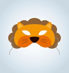 Lion mask vector