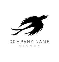 bird logotype vector image