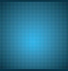 Blue led lights background vector