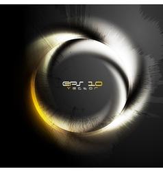 Grunge logo vector image vector image