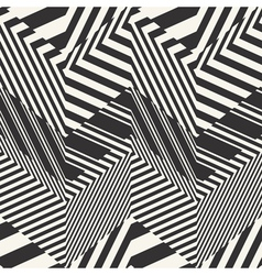 striped textured chevron optical vector image