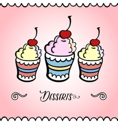 Icecreamcard vector