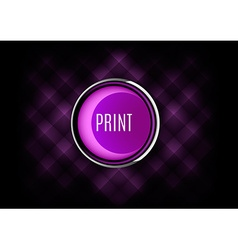 Print button vector