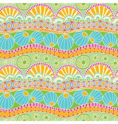 Abstract colorful doodle pattern Hand drawn doodle vector image vector image