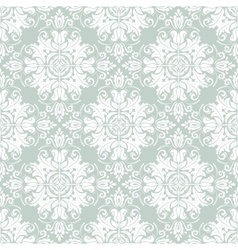 Floral seamless pattern orient abstract background vector