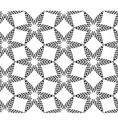 Halftone geometric seamless pattern vector