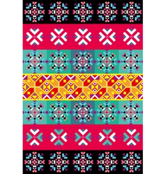 native pattern vector image